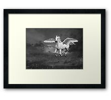 Winged Beauty Framed Print