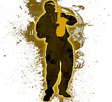 Jazz Man by boehmgraphics