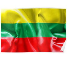 Lithuania Flag Poster