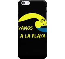 Vamos a la playa iPhone Case/Skin