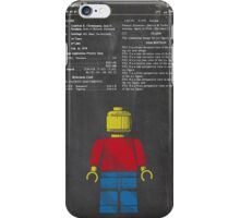Lego Man Patent iPhone Case/Skin