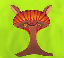 Friendly but Whimsical Mushroom Creature by keem