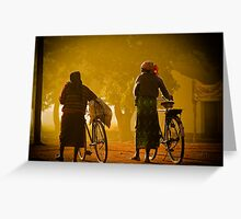 Two Women in Mozambique Greeting Card