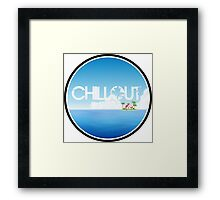 Chillout - Island Framed Print