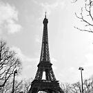 Eiffel Tower by Lewkeisthename