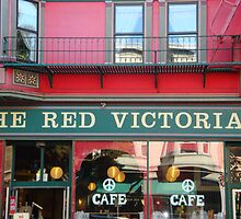 Red Cafe in SF Ashbury Haight Street by mary77