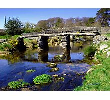 Bridge on Dartmoor Photographic Print
