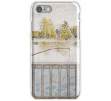 Lisbeth metar av Carl Larsson 1898 iPhone Case/Skin