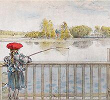 Lisbeth metar av Carl Larsson 1898 by Adam Asar