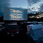 Drive-In Movie Theater (Wellfleet, Cape Cod) by Christopher Seufert