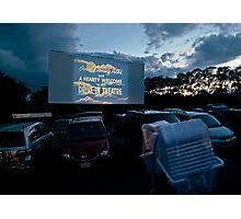 Drive-In Movie Theater (Wellfleet, Cape Cod) Photographic Print