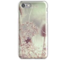 Icy Morning. Wild Grass  iPhone Case/Skin