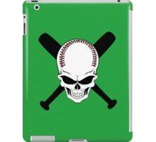 Baseball Jolly Roger iPad Case/Skin