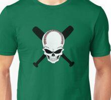 Baseball Jolly Roger Unisex T-Shirt