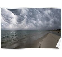 Thunderstorm over Cape Cod Bay (Dennis, MA) Poster