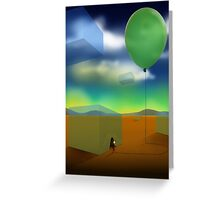 Air To Breathe Greeting Card