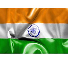 India Flag Photographic Print