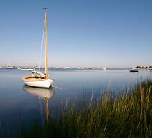 Centervill Sail Boat (Cape Cod) by Christopher Seufert