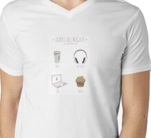Dorks all mighty Mens V-Neck T-Shirt