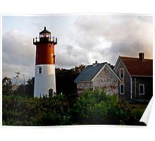 Nauset Lighthouse (Eastham, Cape Cod) Poster