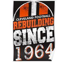 Cleveland Football Rebuilding Poster