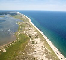 Nauset Beach Aerial Photo (Orleans, Cape Cod) by Christopher Seufert
