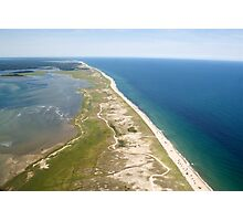 Nauset Beach Aerial Photo (Orleans, Cape Cod) Photographic Print
