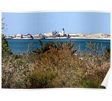Sandy Neck Lighthouse (Barnstable Harbor, Cape Cod) Poster