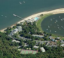 Wequassett Inn Resort Aerial Photo (Harwich, Cape Cod) by Christopher Seufert