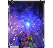 Disneyland Paris Castle Fireworks  iPad Case/Skin