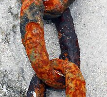 Rusted Chain by Michael Stocks