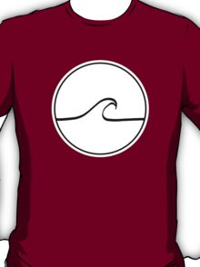 Minimal Wave - Clear background T-Shirt