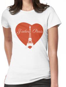 J'adore Paris Womens Fitted T-Shirt