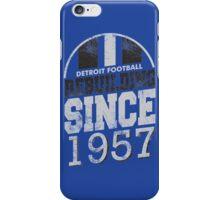 Detroit Football Rebuilding iPhone Case/Skin