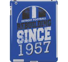 Detroit Football Rebuilding iPad Case/Skin