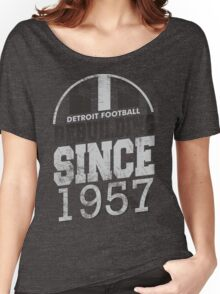 Detroit Football Rebuilding Women's Relaxed Fit T-Shirt