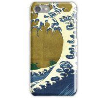 Japanese surf wave iPhone Case/Skin