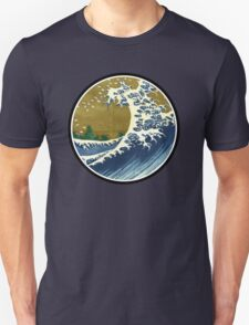 Japanese surf wave T-Shirt