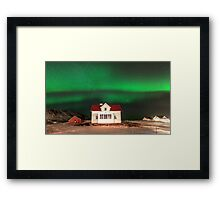 Heaven's Above Framed Print
