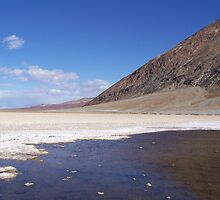 Bad Water, Death Valley by annaburham