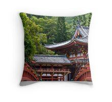 bridge to inner peace Throw Pillow