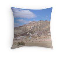 Death Valley, California Artist Drive Approach Throw Pillow