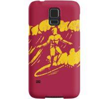 Surfer silhouette Samsung Galaxy Case/Skin