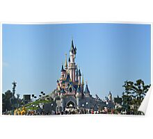 Disneyland Paris Castle Poster