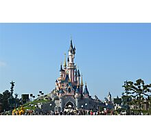Disneyland Paris Castle Photographic Print