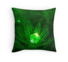 Gem Of Rain Throw Pillow