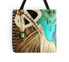 the spine of time Tote Bag