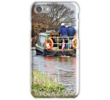 Narrow Boat on Chichester Canal. iPhone Case/Skin