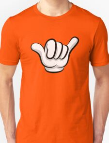 Hang loose. Surf and rock fingers Unisex T-Shirt