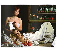 Apple perfume Poster